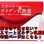 スマートガネデン乳酸菌の成分・原材料一覧、安全性は大丈夫?